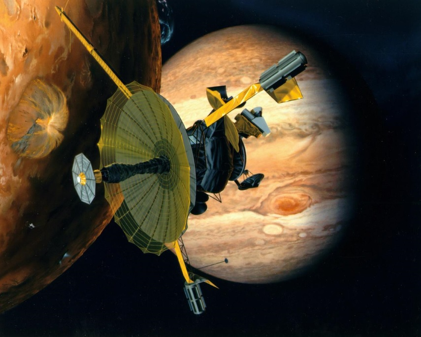 Spacecraft sent to Jupiter